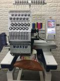 Uma máquina portátil principal do bordado na velocidade 1200 costura um minuto
