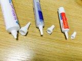 プラスチック歯磨きのチューブの装飾的で柔らかい管