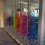 투명한 다채로운 Windows 필름 자동 접착 Whiteboard 필름
