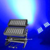 Preiswertes des Preis-DMX Stadt-Farben-Licht Wand-Unterlegscheibe-des Licht-72PCS 10W LED