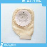 Hydrokolloidaler Ostomy Beutel mit integriertem Flausch-Aufkleber-Schliessen (SKU0149)