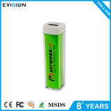 Крен силы USB 2600mAh квадратный зеленый резервный для телефона
