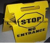 Warnzeichen/Verbot-Zeichen/Ausschnitt sterben Kunststoff /Printing/Four-Sockets/PP