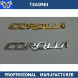 Cromo de encargo de cromo Auto Pegatinas Logotipo del coche Badge Sticker Car Emblems