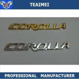 Emblemas por atacado do carro da etiqueta do emblema do logotipo do carro das peças de automóvel do cromo do ABS