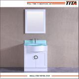 Ausgeglichenes Glas-Eitelkeits-oberste einzelne Bassin-Badezimmer-Eitelkeit T9229-30W