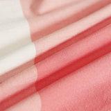 柔らかい綿のロッジのための赤い慰める人セット
