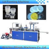 Automatisch Plastic Deksel die Machine voor Koffie/Melk/Dekking Cococola/Deksel vormen