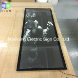 Contenitore chiaro Backlit LED dell'interno di strato acrilico
