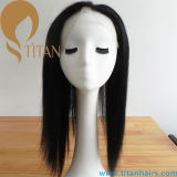 "Novo tipo 13 ""X4"" Straight Brazilian Hair Piece Lace Frontal Encerramento"