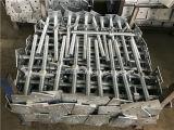 Основание Jack винта лесов конструкции гальванизированное инструментом стальное