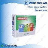 Whc Sk0605W 5W Gleichstrom-Solar Energy Installationssatz mit 3 LED-Lichtern