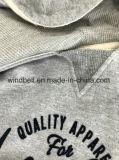 Hoodie de suor de lã de algodão para menino com impressão de rebanho