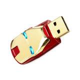 주문 철 남자 USB 섬광 드라이브 승진 선물 USB 지팡이