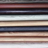 Gute Qualitätsfestes Holz-Korn PU-Leder für Beutel oder Schuhe (HS-M039)