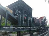 Hohe Leistungsfähigkeits-mobile Kiefer-Zerkleinerungsmaschine
