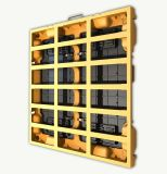 La visualización de pantalla al aire libre a todo color eficaz más alta del LED