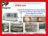 Grosse Kapazität Thermoforming Maschine für Plastikkappe