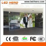 Visualizzazione di LED trasparente calda di vendita P5-8mm dell'interno