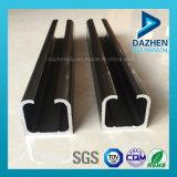 6063 Extrusión de Aluminio Perfil para puerta corrediza Ferrovía