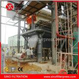 Máquinas automáticas de la prensa de filtro del lodo de la prensa de filtro de la barra lateral para el tratamiento de aguas residuales