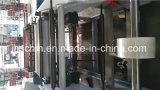 Tarjeta de PVC máquina de estampación, Película de plástico Máquina que arruga