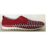 O Slip-on confortável das sapatas calç a parte superior de Shoeswith Flyknit do esporte