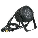 屋外の庭の照明のためのIP65 7X10W RGBA LEDの同価