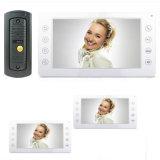 Внутренная связь домашней обеспеченностью телефона двери 7 дюймов видео- с памятью