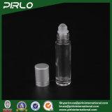 10ml löschen Glasrolle auf Flasche mit Glasrolle und silberner Schutzkappe