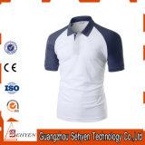 T-shirt mince à séchage rapide de polo de modèle de sports d'ajustement pour les hommes