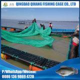 Vara de Nile do HDPE que cultiva a gaiola dos peixes