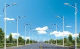 Éclairage Pôle extérieur galvanisé de rue