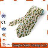 Cravate en soie élastique d'homme en gros bon marché