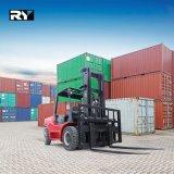 Diesel van 10.0 Ton Op zwaar werk berekende Vorkheftruck, Motor Isuzu