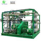 Компрессор диафрагмы давления газа водопода H2 высокий