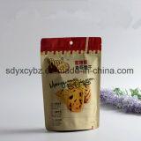 Sgs-anerkannter Fastfood- Reißverschluss-Plastikbeutel-/Packpapier-Beutel