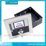 Elektrische 5-Position LCD rotierende Schlüsselschalter für automatische Schiebetür
