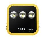 Luz de inundação liberada nova do diodo emissor de luz da alta qualidade 150W do poder superior