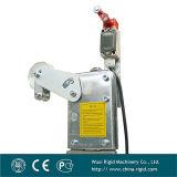 Schraubenartiger motorisierte Aufbau-Aufnahmevorrichtung des Enden-Zlp630 Aluminiumsteigbügel