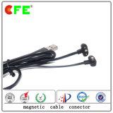 2pin de Magnetische Schakelaar van de Kabel met 4plug