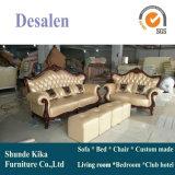 Sofa royal de cuir de type d'arrivée neuve pour les meubles à la maison (196#)