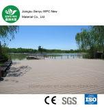 Grüner materieller Eco-Frinendly Gleitschutz-WPC Bodenbelag