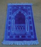 L'épaisseur Raschel gravent le couvre-tapis en relief de prière de la Turquie