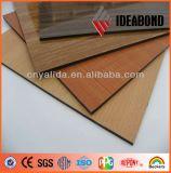 PVDF Beschichtung-hölzernes Muster-zusammengesetztes Aluminiumpanel für externen Verbrauch