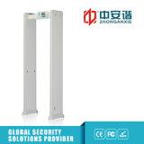 100 nível de segurança 4 modo infravermelho porta do arcoway portão do detector de metal com backup da bateria