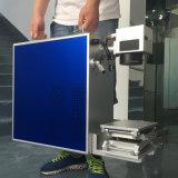 Impresora de la insignia del laser de la fibra del código de barras 20W