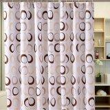 Nueva cortina de ducha impermeable impresa del cuarto de baño del poliester 2017