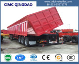 Cimc 3 eixos elevam o Semi-Trailer do Tipper 30cbm-50cbm