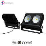 UL Outdoor 240V Flood Light 200W, IP65 Outdoor Spot LED Light para Iluminação no Museu